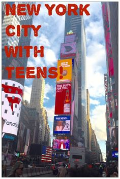 New York City with Teens! Spend a full filled weekend in NYC with teenagers! Read about things to do and where to eat!: