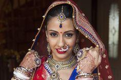Blog - Sarbjeet + Raj: Traditional Sikh and Hindu Punjabi Wedding Ceremonies in Sydney - Hindu bride - Sikh bride - Indian bride - Indian wedding - red and blue wedding lengha - royal blue - maroon velvet - Indian bridal make up - Indian bridal nathy - Indian jewellery #thecrimsonbride