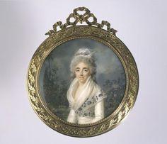 Portrait d'une femme, vers 1790 Louis-Lié Périn-Salbreux