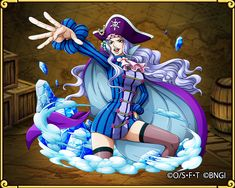 Ice Witch Whitey Bay Whitebeard Pirates One Piece Whitey Bay One Piece Anime, Anime One, I Love Anime, Game Character, Character Design, Pirate Games, One Piece Funny, One Piece Pictures, Samurai Tattoo