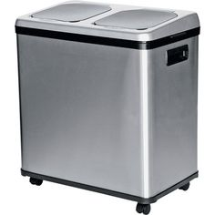 Touchless Recycling and Waste Bin