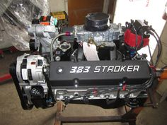 383 Chevy 450 HP Stroker turnkey Engine / Motor with Edelbrock Heads Collision Repair, Auto Body Repair, Square Body, The Body Shop, Cool Cars, Chevy, Engineering, Ford, Free Shipping