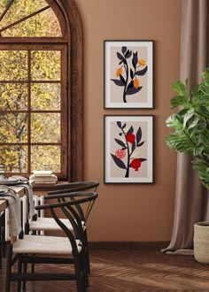 VIVID FRUITS NO. 3 - buy illustrations art prints online UK - living room decor ideas