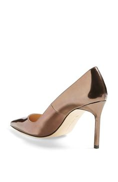 Free shipping and returns on Manolo Blahnik 'BB' Patent Leather Pointy Toe  Pump at