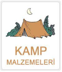 Doğada ihtiyaçınız olarak bütün kamp malzemeleri