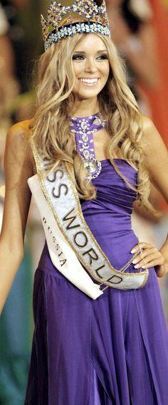 Miss Russia / World Ksenia Sukhinova Most Beautiful, Beautiful Women, Beauty Pageant, Queens, Russia, Angels, Universe, Celebrities, Girls