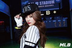 miss A's Suzy for MLB Spring/Summer 2014 Ad Campaign