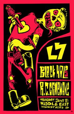 L7 - Black Halos - Rock City Crimewave