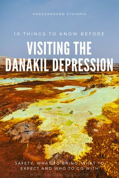 10 Things to know before Visting The Danakil Depression by HandZaround. Things To Know, Ethiopia, Backpacking, Travel Inspiration, Have Fun, Track, Budget, Trail Riding, Runway