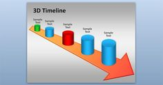 Free 3D Timeline PowerPoint Template - Free PowerPoint Templates - SlideHunter.com