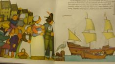 The story of the Pilgrims thanksgiving read aloud picture book story http://www.youtube.com/watch?v=gIpB6XslCvY