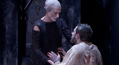 """"""" Proctor: Spite only keeps me silent. It is hard to give a lie to dogs. (Pause, for the first time he turns directly to her.) I would have your forgiveness, Elizabeth. Arthur Miller """"The Crucible""""..."""