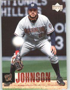2006 Upper Deck 495 Nick Johnson - Washington Nationals (Baseball Cards) ** Click image for more details.