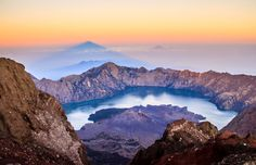 Mount Rinjani National Park lies Mount Rinjani. Park with an area of 41,330 ha and included Wallacea transition zone lines.