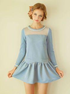 skylight dress $84 #asianicandy #kawaii #japanese #kstyle #asianfashion #sweet #style