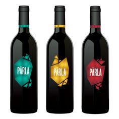 by Anna Ropalo Wine Bottle Design, Wine Label Design, Wine Bottle Labels, Beverage Packaging, Bottle Packaging, Pouch Packaging, Brand Identity Design, Branding Design, Logo Design