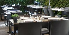 La Terrasse Conference Room, Table Settings, Furniture, Home Decor, Patio, Decoration Home, Meatball, Room Decor