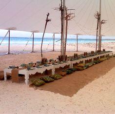 Inspiration: Dinner on the Beach