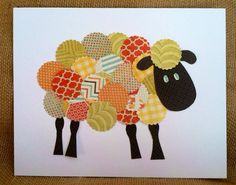 Sheep Nursery Art Print Playroom art Nursery Decor by littlebuoy, $14.00