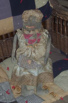 old looking rag doll