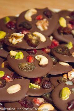 Mendiants de chocolate