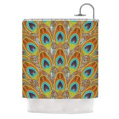Peacock by Art Love Passion Shower Curtain