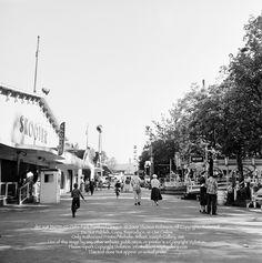 Oaks Park July 19, 1953 SE Portland Oregon USA