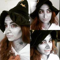 Maquillaje de bruja, make up