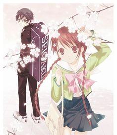 Ryoma and Sakuno! Prince of Tennis! Manga Art, Manga Anime, The Prince Of Tennis, Cute Anime Couples, I Love Anime, Drama Movies, Love Is Sweet, Live Action, Animation