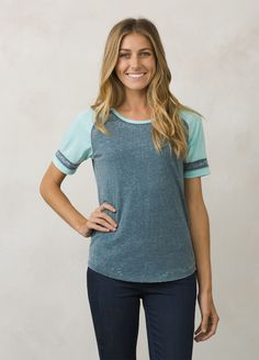 I love the prAna Cleo T-Shirt! Check it out and more at www.prAna.com