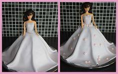 Anettes Kaker: Prinsessekake trinn for trinn Ball Gowns, Baking, Formal Dresses, Fashion, Ball Gown Dresses, Bread Making, Moda, Patisserie, Formal Gowns