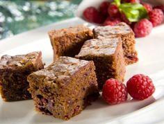 Brownie z malinami - Recept