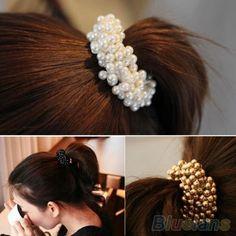 der Braut Haarwäsche Barrettes Haarschnitt Haarnadeln Simulation Pearl Hairband