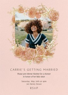 Showers and parties | Send online instantly | RSVP tracking Bridal Shower Invitations, Little Sisters, Tool Design, Getting Married, Rsvp, Showers, Parties, Wedding, Beautiful