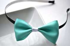 Tiffany blue bow