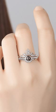 Royal crown ring. You are royalty! Show it off with jewelry! #royal #royalty #crown #princess #queen #jewelry #rings