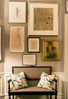 Gallery - Home of Andy and Kate Spade for Matchbook mag (via Marcus Design)