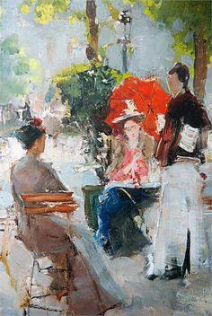 """Konstantin Korovin: """"Paris Café"""""""