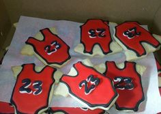 Jordan Theme Cookies