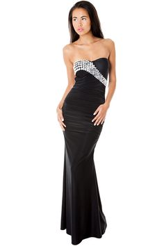 Black Tie Dress Formal Tail Dresses Prom