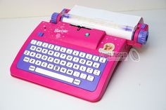 Barbie Electronic Typewriter Toys Contains MASC Cryptographic Capabilities « Adafruit Industries – Makers, hackers, artists, designers and engineers! Little Girl Toys, Cool Toys For Girls, Baby Girl Toys, Baby Doll Nursery, Gifts For Girls, Little Girls, Barbie Doll House, Barbie Dolls, Mattel Barbie
