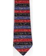 Joah Bach Hieroglyphics Silk Necktie Egyptian D... - $24.00