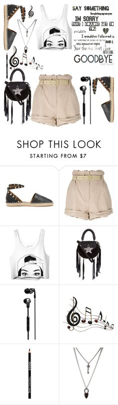 """""""Untitled #147"""" by tisshik ❤ liked on Polyvore featuring Valentino, Moschino, SALAR, Skullcandy and Benzara"""