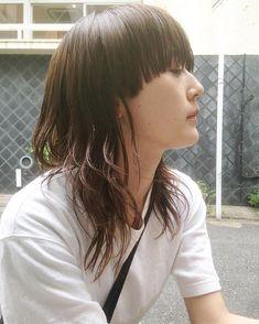 Yuto MaruyamaさんはInstagramを利用しています:「new wolf🤳 #hair #ウルフカット #マッシュウルフ」