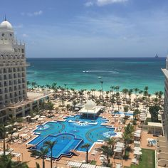 Room view at RIU Palace Antillas in Aruba.
