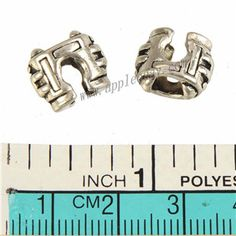 Zinc Alloy Large Hole Beads,Plated,Cadmium And Lead Free,Various Color For Choice,Approx 12*10.5*7.5mm,Hole:Approx 5mm,Sold By Bags,No 010159