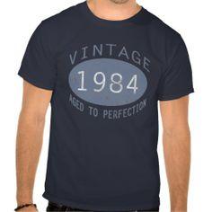 1984 Vintage Birthday Shirt