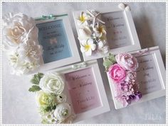 NaturalGarden♡フォトフレームセミオーダーアレンジ♡ ウェルカムボード LiLia ハンドメイド通販・販売のCreema