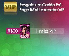 Prepaid Cards: IMVU