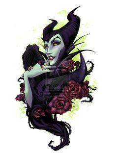 Maleficent by Audra Auclair Evil Villains, Disney Drawings, Disney Inspired, Villain, Art, Disney Tattoos, Audra Auclair, Fairy Tales, Disney Villains